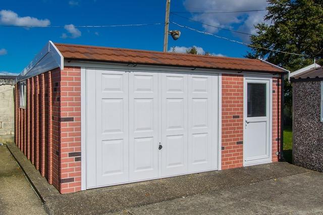 Hollybush Buildings Mansard Roof Garages