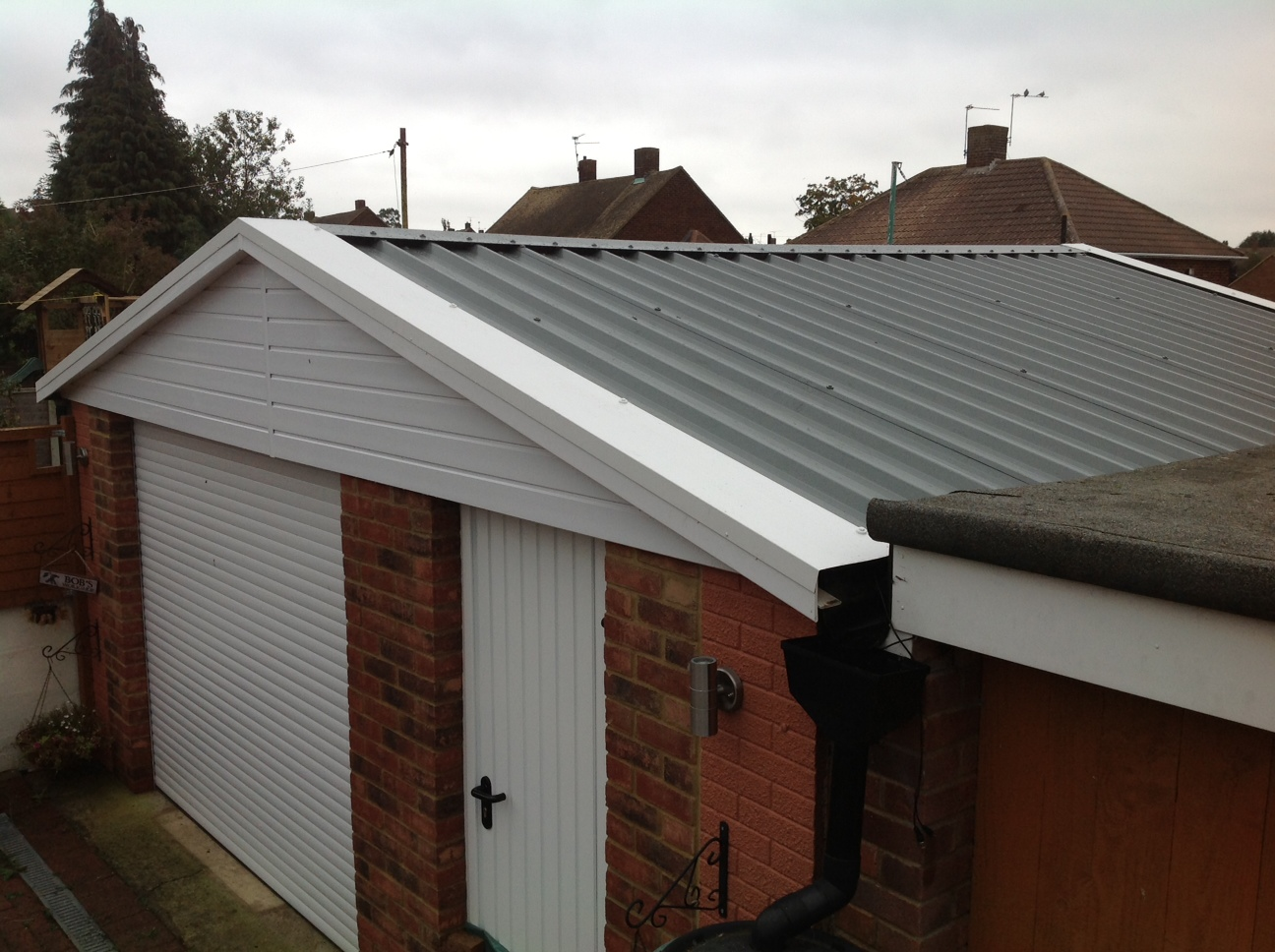 Hollybush Buildings Replacement Garage Roofs